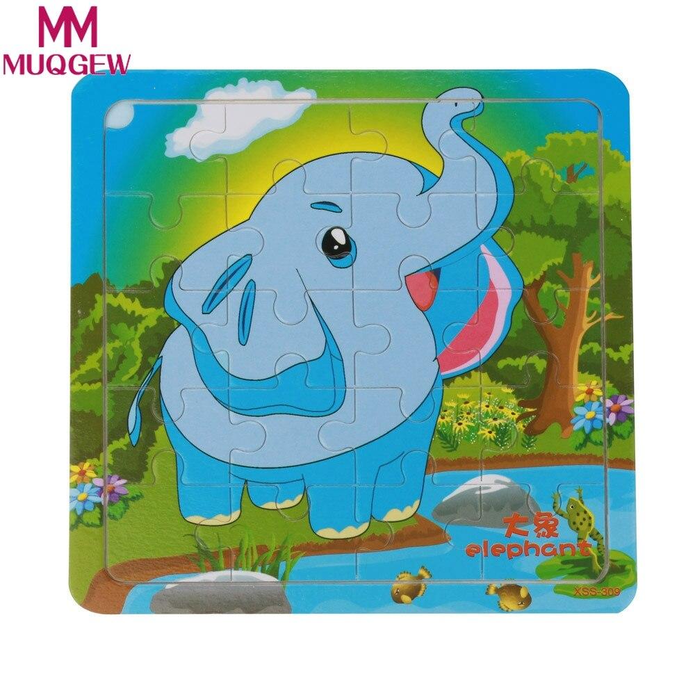 Лидер продаж для маленьких детей мультфильм Животные Пазлы игрушки Пазлы обучающие игрушки для детей Подарки обучение игрушка