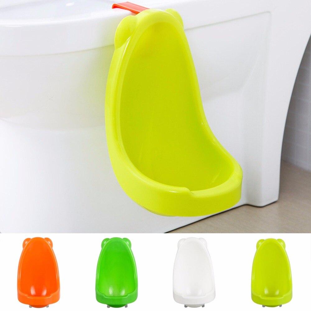 Новый 1 шт. милый Для детей незначительное Туалет Обучение Писсуар для Обувь для мальчиков Пи Тренер Ванная комната