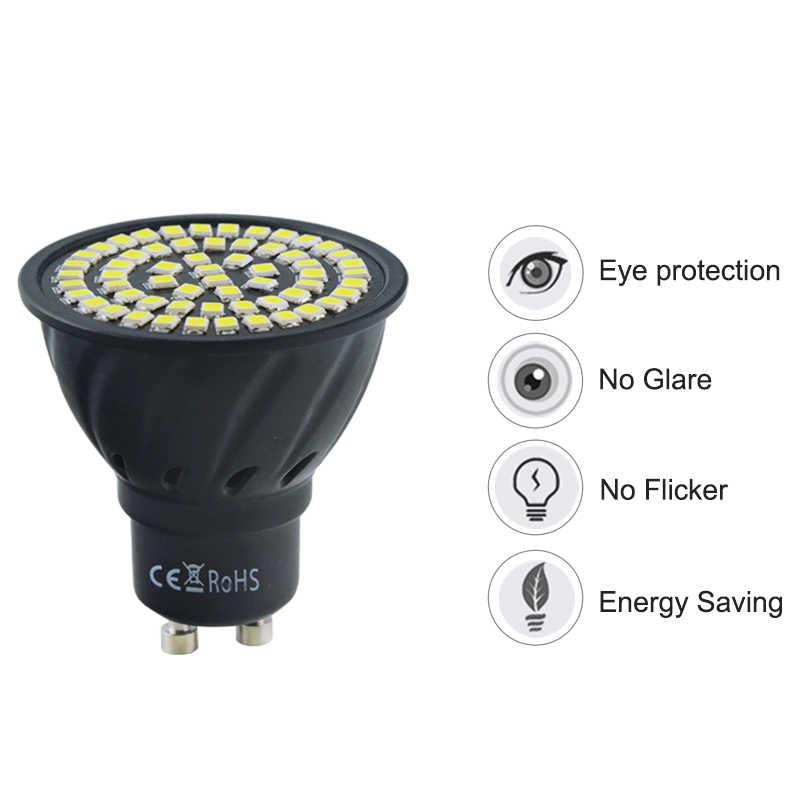 GU10 MR16 LED Spotlight 2835SMD LED light 220V 110V LED lamp 70Leds 80Leds Warm White Cold White LED Lighting NO Flicker A++