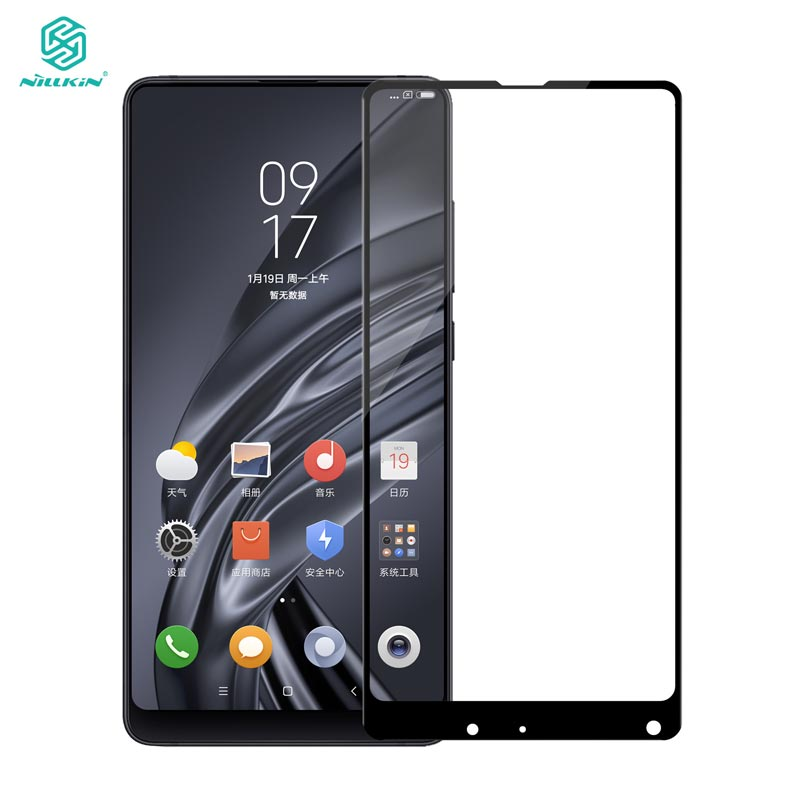 Xiaomi Mix 2S Tempered Glass Xiaomi Mix 2S Glass Nillkin CP+ 2.5D Full Cover Screen Protector For Mix2 Mix2S