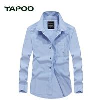TAPOO Shirts Mens PoloShirts Males Cotton Business Shirts Camisa Leisure Spring Brand Clothing Long Sleeve Fashion Shirts Mens8