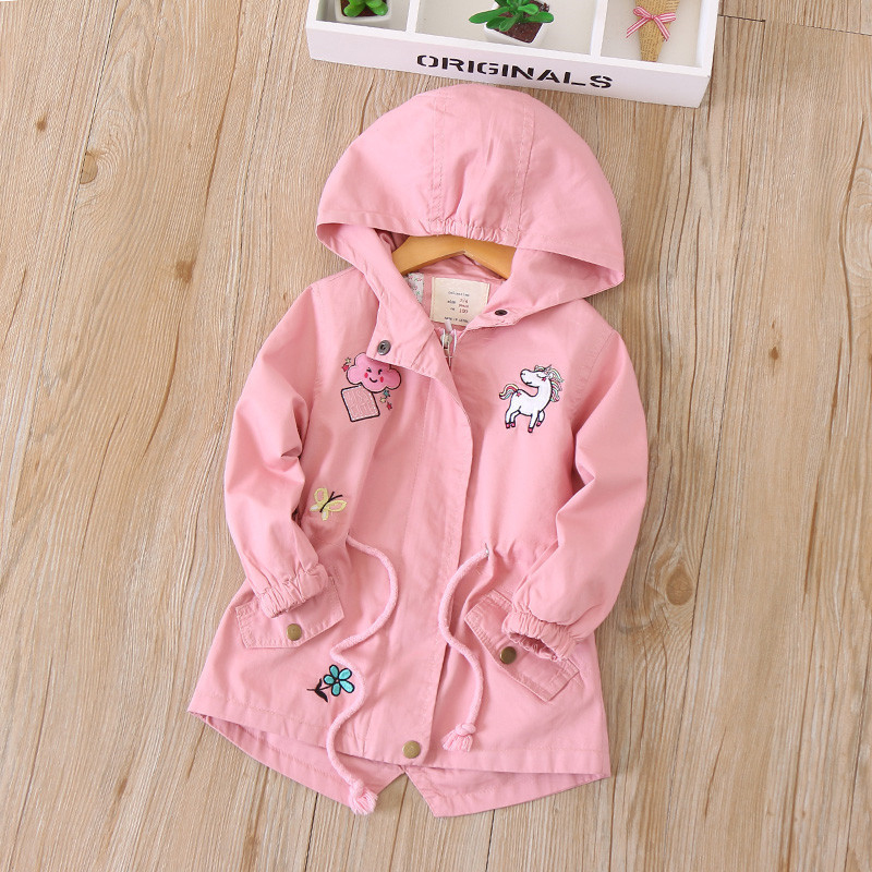 c7c73a02e New Children Jacket Spring Autumn Kids Windbreaker For Girls Clothes ...