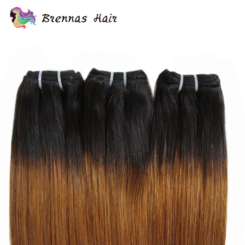 Double Drawn  Straight Hair s Ombre 1b30  Funmi  Bundles non  hair s Brennas 3