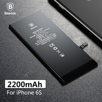 Original Baseus Lithium Polymer Battery For Apple iPhone 6S 6SG Internal Batteria High Capacity 2200mAh Battery Replacement