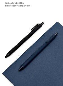 Image 4 - 10Pcs/Lot Original KACO 0.5mm Xiomi Mi Signing Pen Gal Ink Smooth Writing Durable Signing writing supplies Black Refill