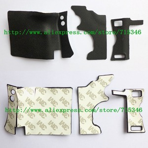 Image 1 - 3PCS/ NEW Body Rubber Shell For Canon EOS 5D Mark II / 5DII / 5D2 Digital Camera Repair Part +Tape