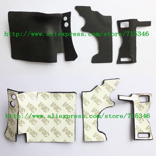 3PCS/ NEW Body Rubber Shell For Canon EOS 5D Mark II / 5DII / 5D2 Digital Camera Repair Part +Tape