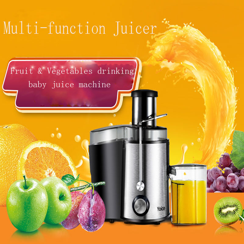 1pc Household Juice Making Machine Electric Fruit Vegetable Baby Juicer  Multi-functional Home Use Juice Maker ZZJ1 good selling home used manual fruit vegetable juicer machine