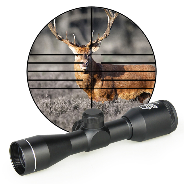 New Arrival Tactical 4x32 Rifle Scope Optic Sight for Outdoor Shooting gs1-0255