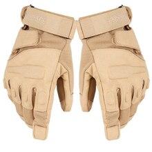 Новые уличные тактические перчатки, полный палец, спортивные, для пешего туризма, кемпинга, велоспорта, военные мужские перчатки, противоскользящие защитные перчатки для рыбалки