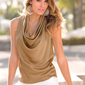 2016 new Casual Wild Women's Sleeveless Tank Tops Cami No Sleeve T-Shirt Vest