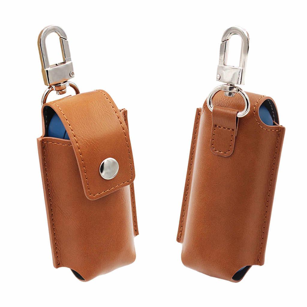 الجلود المحمولة لمكافحة خسر حقيبة لهاتف سامسونج غالاكسي براعم سماعة الغطاء الواقي حقيبة الحقيبة لا سماعات الأذن