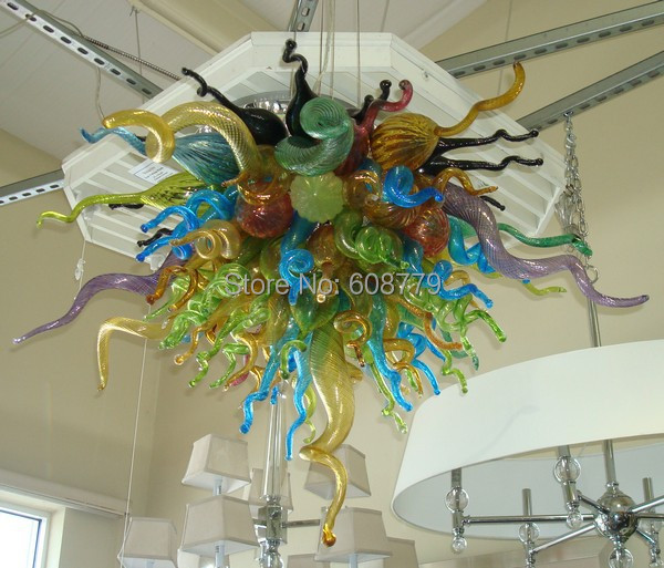 Free Shipping High Quality Modern Lights Hanging LED Chandelier Colorful