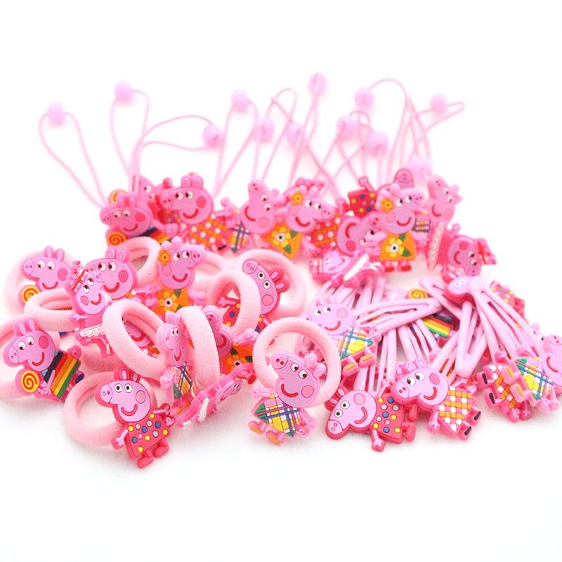 36 PCS/ set 2017 Fashion cute girls hair accessories elastic hair bands Child Rubber Band hair clip kids  gifts Headwear jrfsd 7pcs set new fashion girls hair clip cartoon images hair bands princess mini dress hairgrip kids hair accessories