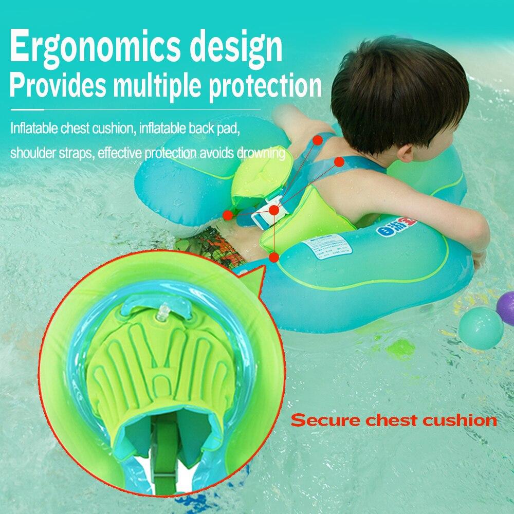 anel de natacao infantil axila para criancas brinquedo da piscina roda 05