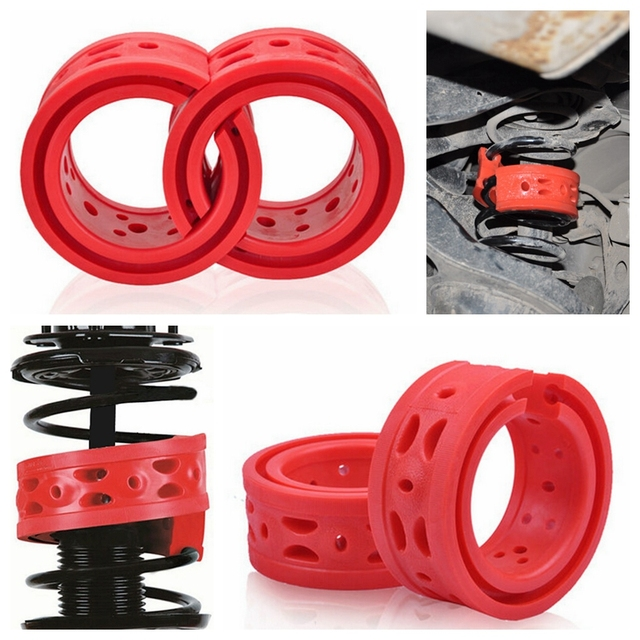 2pcs Type A Protective Suspension Shock Absorber Spring