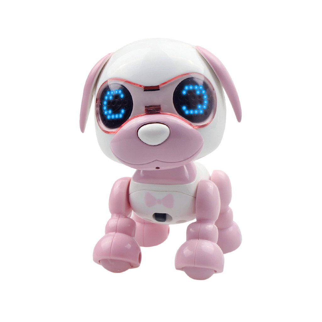 HIINST Educational Toys Smart Puppy Robotic Dog LED Eyes Sound Recording Sing Sleep Cute Toy Baby Educational Toys Children|Movies & TV|   - AliExpress