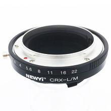 NEWYI pour objectif Contarex Crx à Leica M Lm M4 M5 M6 M7 M8 M9 Mp Techart adaptateur de Lm Ea7