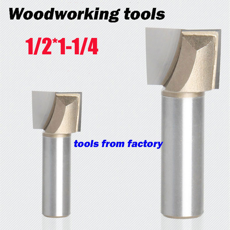 1pc wooden router bits 1/2*1-1/4 CNC woodworking milling cutter woodwork carving tool 1pc wooden router bits 1 2 5 8 cnc woodworking milling cutter woodwork carving tool