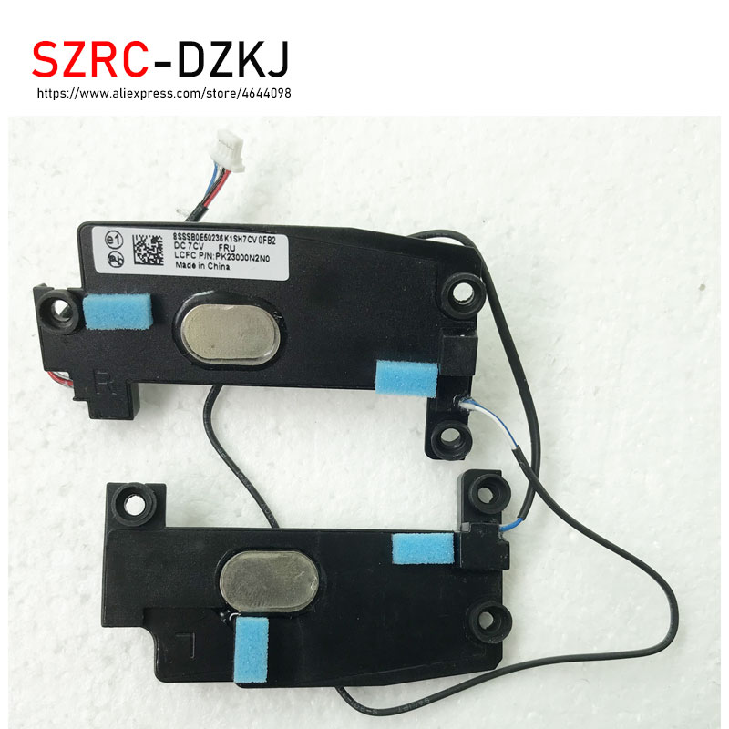 SZRCDZKJ New Original For   Lenovo ThinkPad T460S T470S Built-in Speakers With Cable Sets Laptop FRU/PN 00JT988 PK23000N2N0