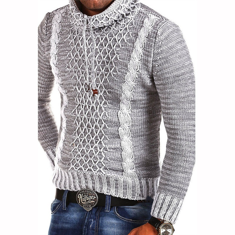 ZOGAA Sweater 2019 Men Brand Casual Slim Fit Male Sweaters Autumn Winter Knitted Thick Hedging Turtleneck Men 39 s Sweater in Pullovers from Men 39 s Clothing