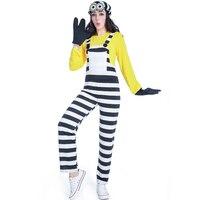 Movie Minion Onesie Children Cosplay Halloween Parenting Costume Adult Child Male Female Minion Cosplay Costume Dress