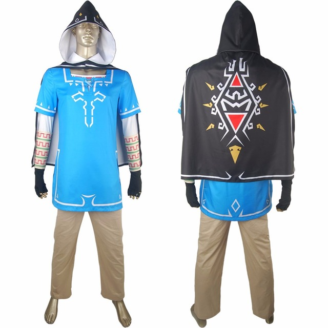 Kids Boys The Legend of Zelda Breath of the Wild Link Cosplay Outfit Uniform Cape Halloween  sc 1 st  AliExpress.com & Kids Boys The Legend of Zelda Breath of the Wild Link Cosplay Outfit ...