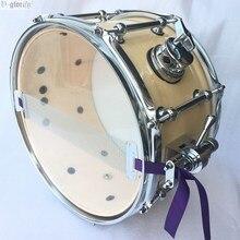 Березовая древесина 12 дюймов snare барабан с 8 наконечниками