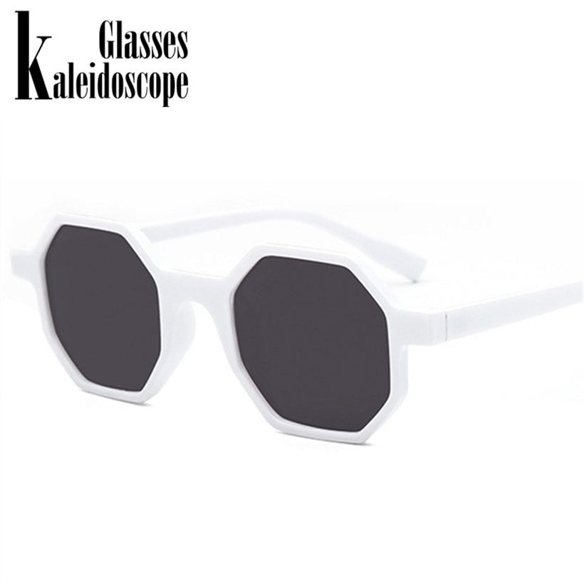Small Frame Polygon Sun Glasses Retro Rhombus Sunglasses Vintage Octagon Women Sunglass Fashion Accessories