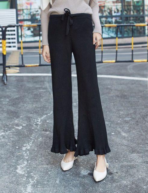 ef9ce3fbae2b71 Jeansy ciążowe Wysokiej Talii Czarny Kutas Pochodni Spodnie dla Kobiet W  Ciąży Boot Cut Stretch Stałe