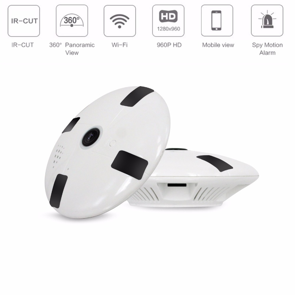 Mini Wifi IP Camera 960P 360 Degree Home Security Wireless P2P Wifi IP CCTV Camera Surveillance Camera Night Vision Baby Monitor