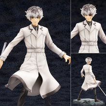 22CM Anime KOTOBUKIYA Tokyo Ghoul Re Haise Sasaki ARTFX J Statue Kaneki head can be changed PVC Figure Collectible Model figura anime tokyo ghoul figure toys mask ken kaneki melanism pvc action figure collection model toy gift