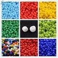 Opaco 2/3/4mm Venta 6/0 8/0 12/0 Joyería Que Hace Resultados de Los Accesorios de la Semilla de Cristal Flojo Pequeño Tiny grano de Color Pequeña Bola Redonda