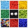 Glass Seed Beads Opaque Colours Seed Round CoconutBrown Size About 2mm In Diameter Hole 1mm About