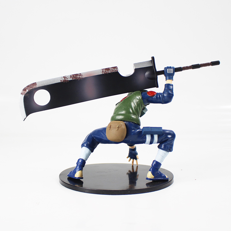 Naruto Shippuuden Hatake Kakashi with Sword Shinobi World War Figurine Ver. PVC Action Figure Collection Model Toys Dolls 3