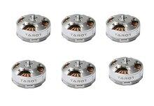4 pces/6 pces tarot 6s 380kv 4108 disco sem escova do multi rotor do motor tl68p07 para rc multicopters zangão