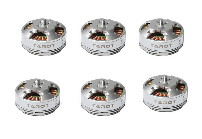 4pcs/6Pcs Tarot 6S 380KV 4108 Brushless Motor Multi rotor Disc TL68P07 for RC Multicopters Drone