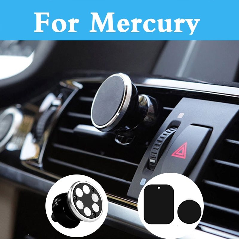 Car 360 Degree Gps Magnetic Mobile Phone Holder Magnet Mount Holder Stand For Mercury Marquis Mariner Milan Montego Grand