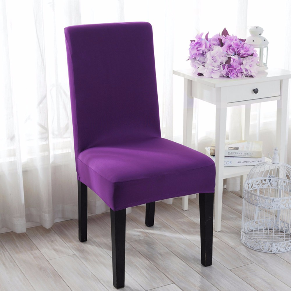 Aliexpress Buy 10 Colors Spandex Chair Cover 100PCS Stretch Restaurant Dining Removable Slipcover Meeting Room From