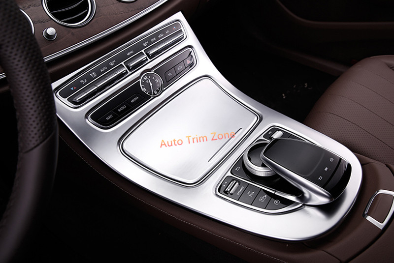Abs plastic chrome head light cover for mercedes benz w207 for Interieur voiture de luxe