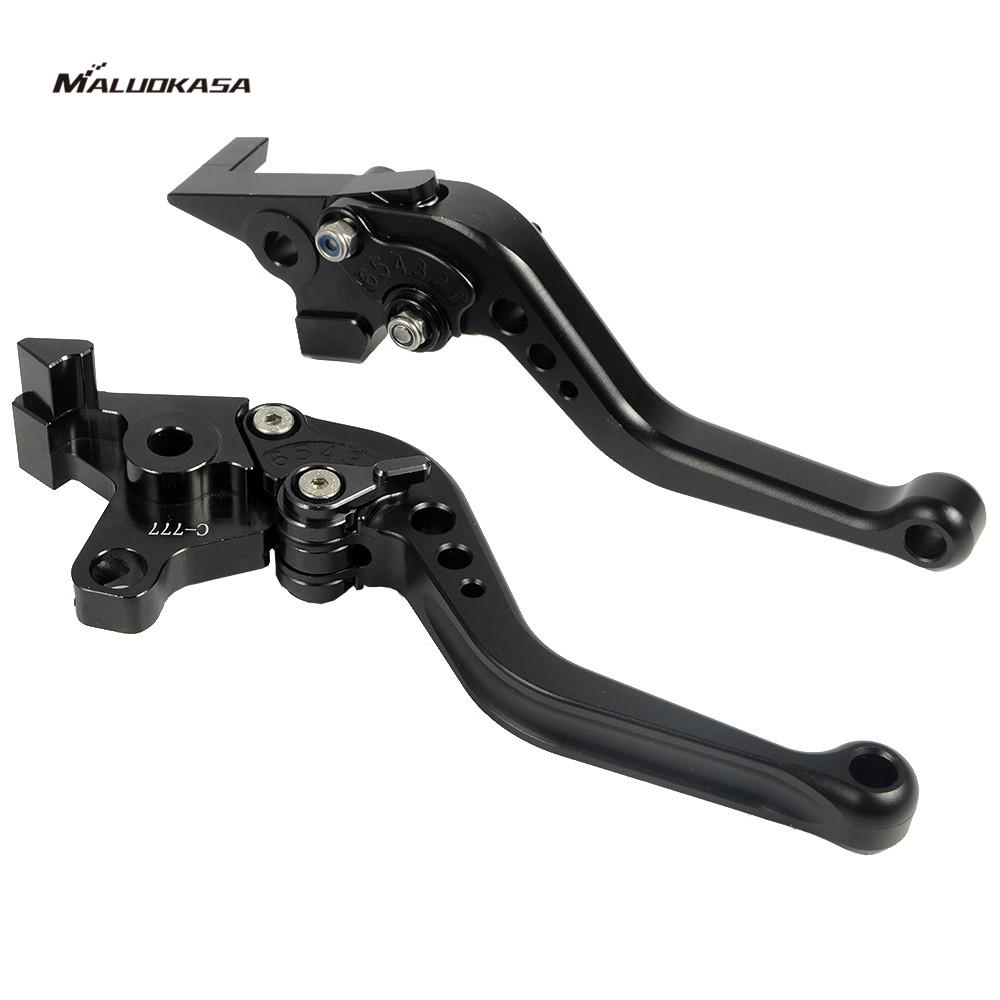MALUOKASA Motorcycle Adjustable CNC Brakes Clutch Levers For Yamaha FJR 1300 2004-2013 Yamaha XJR 1300 2004-2013 Free Shipping cnc billet adjustable long folding brake clutch levers for yamaha xtz 1200 10 14 xjr 1300 fjr 1300 04 14 05 07 supertenere 12 14