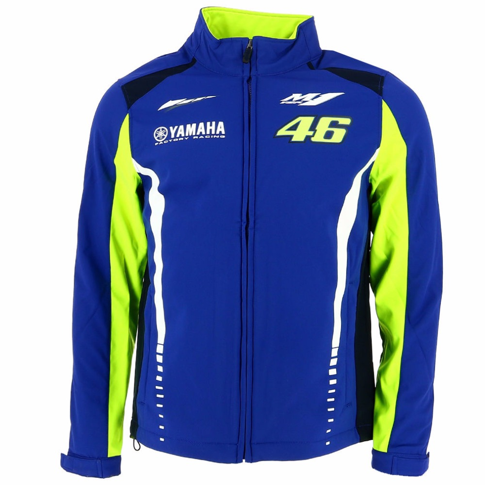 2017 VR46 Valentino Rossi for Yamaha M1 Dual Racing Team Moto GP Men s Soft Shell