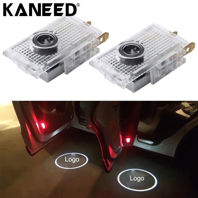 KANEED For Opel LED Car Logo Door Light car door light ghost 3D shadow welcome logo projector emblem For opel insignia factory price sale 2x7w led car door logo ghost welcome light laser projector shadow emblem for s koda for o ctavia