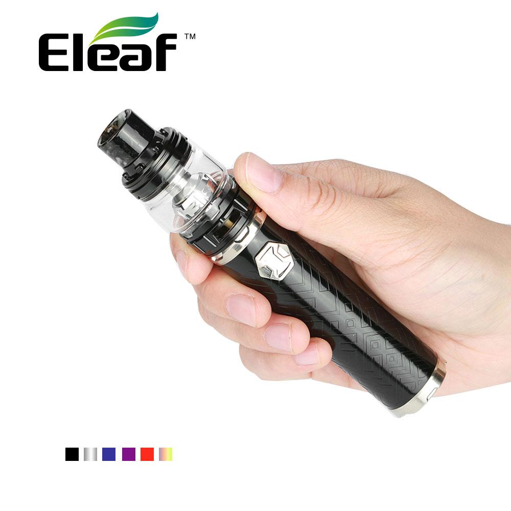 2018 New Eleaf IJust 3 Starter Kit 3000mAh Battery 2ml/6.5ml Ello Duro Atomizer Tank w/ 0.15ohm HW-M Coil E-cig VS Ijust S цена