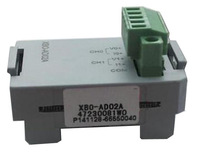 XBO-AD02A XGB PLC 2 passageway Input module brand new xbl c21a ls xgb series 232 communication module new