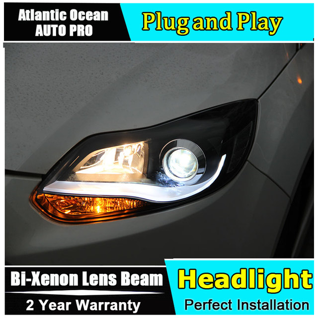 Headlights For Ford Focus   Led Xenon Headlamps For Focus Car Styling Led Guide