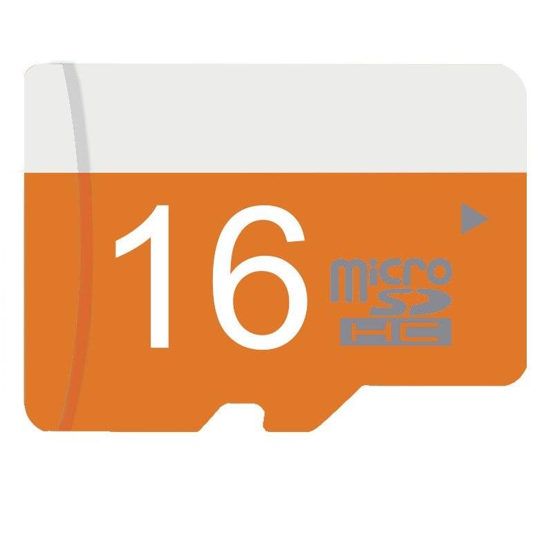 Shenzhen Colour Stone Technology Co., Ltd. Transflash card Real Capacity Memory stick 16G 32G 64G Orange Micro Sd Card Class10 TF Card Microsd Card for smart phone camera