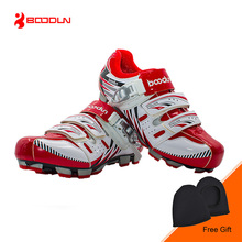 BOODUN New Men Outdoor Bicycle Shoes Self-locking Mountain Bike Shoes Non-slip MTB Riding Shoes Boots Zapatos de ciclismo