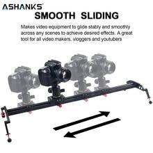 "ASHANKS Camera Slider 23""/60cm Ball bearing Typed Rail System for DSLR and Video Camera, Smartphone for Youtuber and Film Maker"