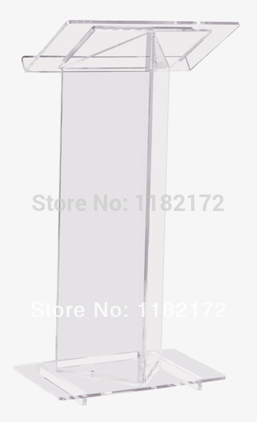 Free Shipping/Cheap Beautiful Transparent .acrylic Podium Pulpit Lectern.acrylic Podium Plexiglass